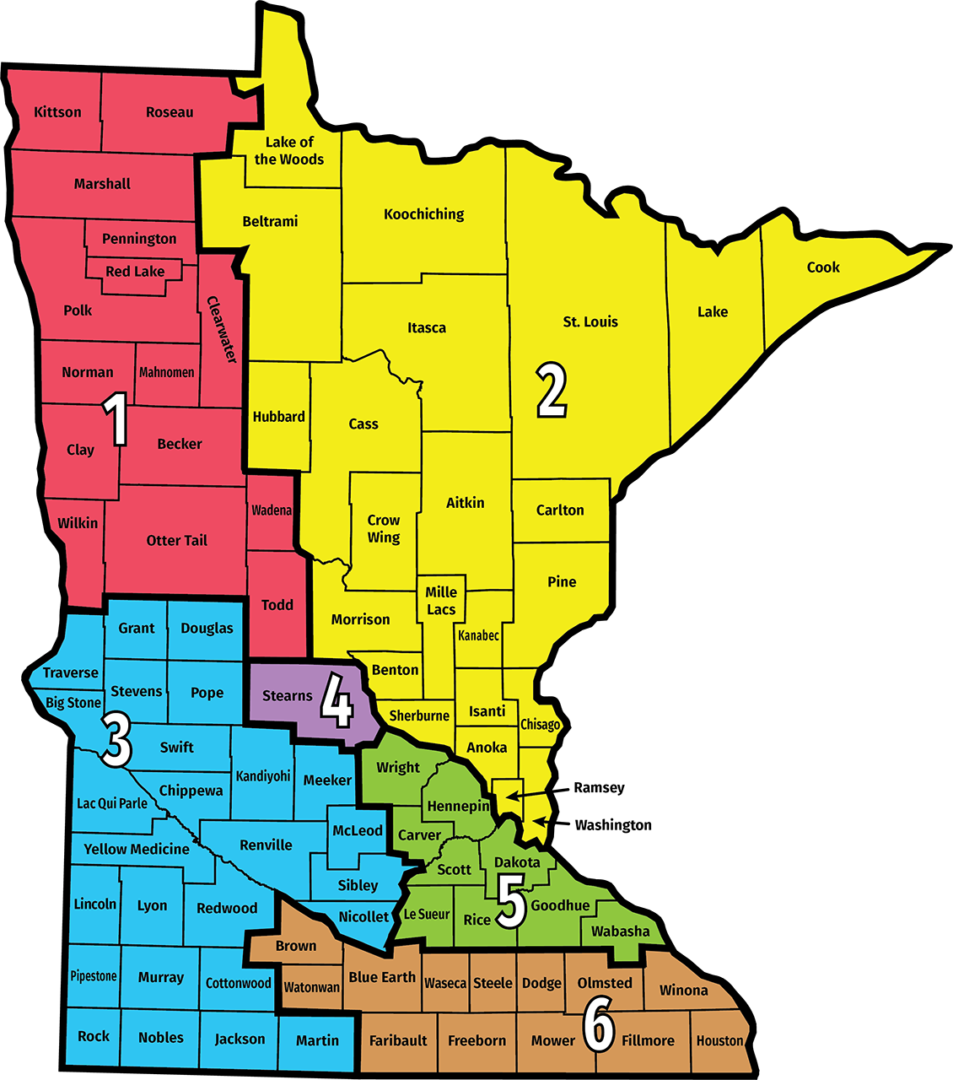 2019 MMPA District Map